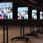 """Die Schreie aus der Installation """"Shouting"""" sind in der gesamten Ausstellung zu hören... Foto: Universalmuseum Joanneum/J.J. Kucek"""