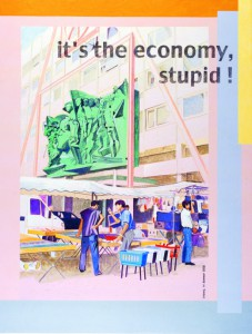 Johanna Kandl, O.T. (It´s the economy, stupid), 2002, Courtesy GfzK Leipzig