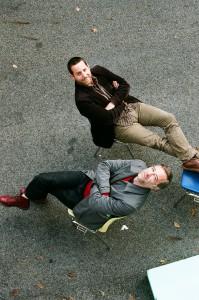 Georg Steker und Thomas Desi, Foto: Nick Mangafas