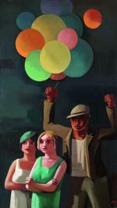 Der Ballonverkäufer, 1929, Otto Rudolf Schatz, Belvedere, Wien
