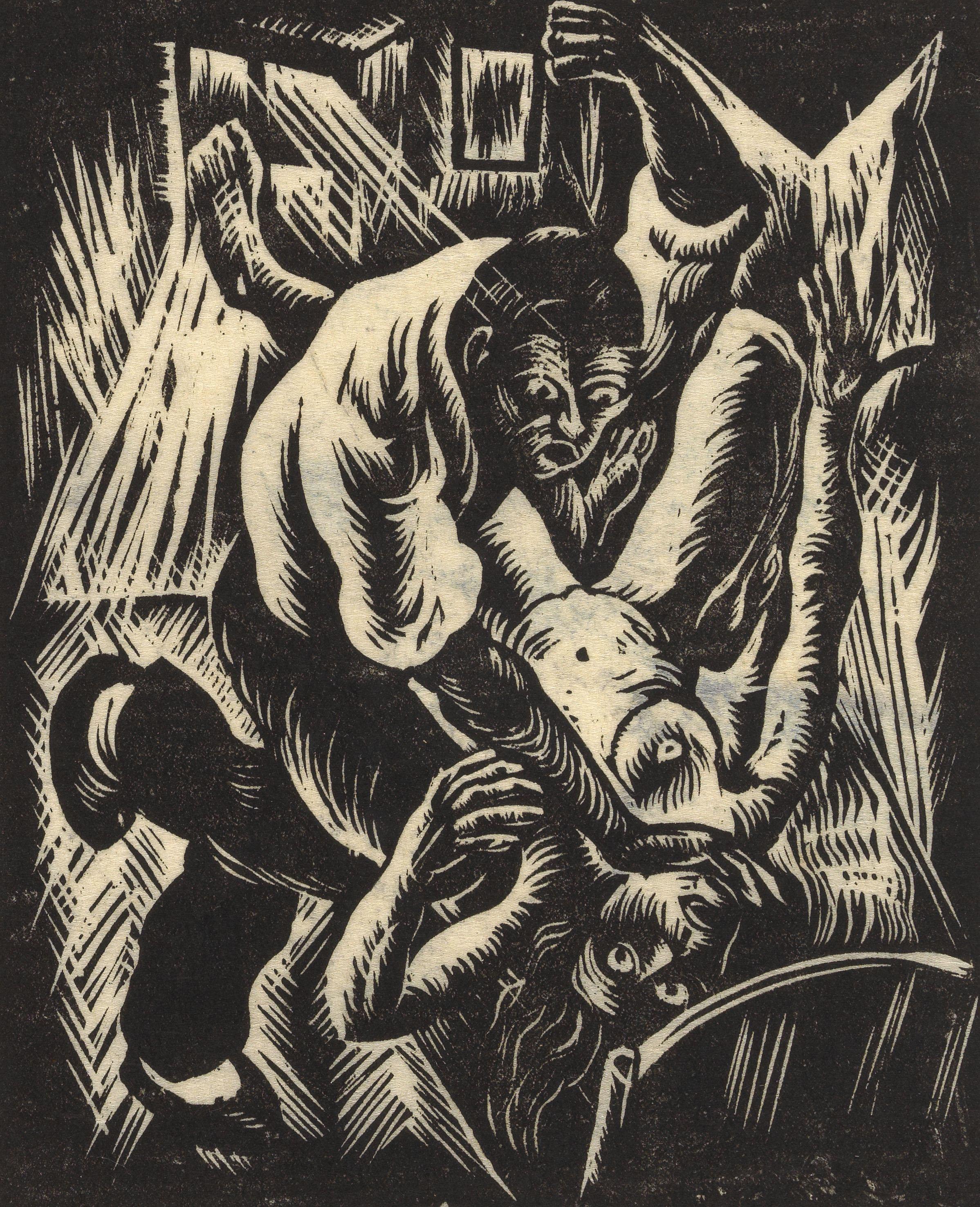 Mörder, 1923, Otto Rudolf Schatz Wien Museum