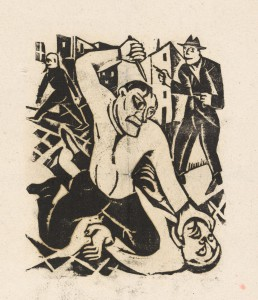 Mörder, 1923, Carry Hauser, Wien Museum