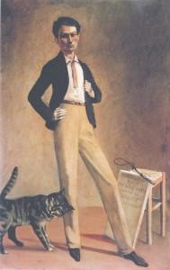 König der Katzen, Balthus, Kunstforum Wien, Balthus, Foto: MONDADORI PORTFOLIO/Bridgeman  Images (Photo Lefevre Fine Art Ltd., London)