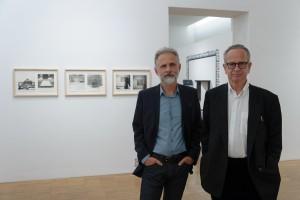 Kurator Günther Holler-Schuster und Richard Kriesche Foto: Universalmuseum Joanneum/N. Lackner