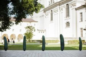 Erwin Wurm: Gurken, Foto: Salzburg Foundation