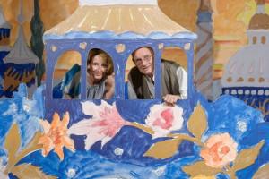 Diana Brus mit ihrem Vater Günter Brus, Foto: Universalmuseum Joanneum/N. Lackner
