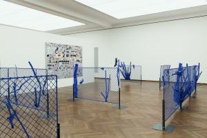 Christian Kosmas Mayer Ausstellungsansicht Poetiken des Materials Leopold Museum Wien Foto Lisa Rastl Bildrecht Wien 2016